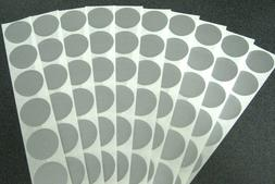"""100 ROUND SCRATCH OFF STICKERS 1"""" LABELS PARTY FAVORS GAMES"""