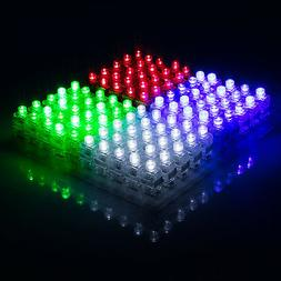 100pcs Finger Light Up Ring Laser LED Rave Party Favors Glow