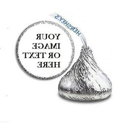 108 Custom Personalized Labels Stickers Hershey's Kisses Can