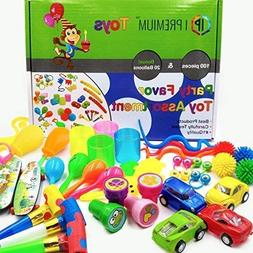 120 SET Pieces Birthday Party Bundle Gift Box Kids Favor Toy