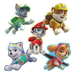 20 Paw Patrol Shape STICKERS Party Favors Supplies Birthday