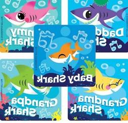 25 baby Shark  Stickers Party Favors Teacher Supply Valentin