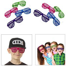 Dazzling Toys 80's 80's Slotted Toy Sunglasses Party Favors