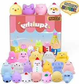 Birthday Party Favors Squishies Kids Mochi Squishy 20Pcs Kaw