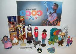 Disney Coco Movie Party Favors Set of 15 with Figures, Charm