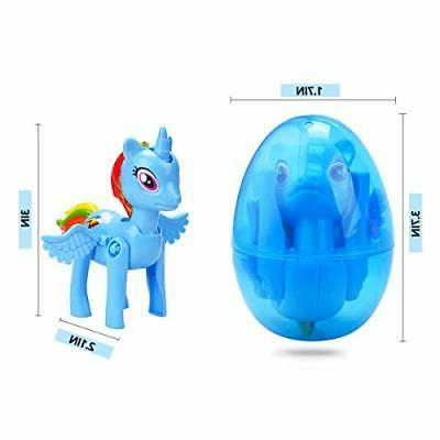 4 Eggs Toys Inside Unicorn Party forKid