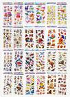 Animal world Stickers !3D Puffy Favors&Party Kids' Crafts fa