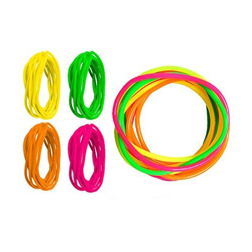 Adorox Jelly Bracelets Rainbow Colors Birthday Gifts Prizes )