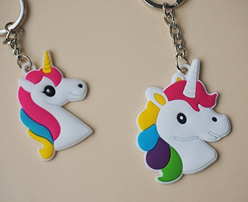 YUEAON 30 pack Rainbow Unicorn Party Favors for kids-bulk-cute
