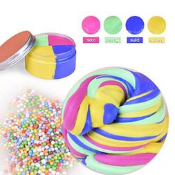 Magic Fluffy Slime LEEHUR Non-sticky Putty Mud Sludge Toys S
