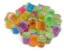 Kidsco Mini Putty with Glitter - 48 Pack Assorted Colors - C