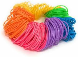 neon jelly bracelets rainbow party