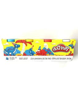 Play Doh Elastix Compound Bundle 4-Pack of Bright Colors 4-Pack of Bold Colors