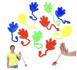Sticky Hands Party Favors Pack of 59 Birthday Assorted Color