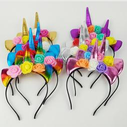 Unicorn Favors Headbands Unicorn Party Supply Girls Hair Acc