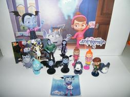 Disney Vampirina  Party Favors Set of 14 with 12 Figures and